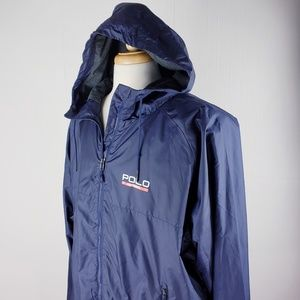 Men's Ralph Lauren Wind breaker Blue XXL